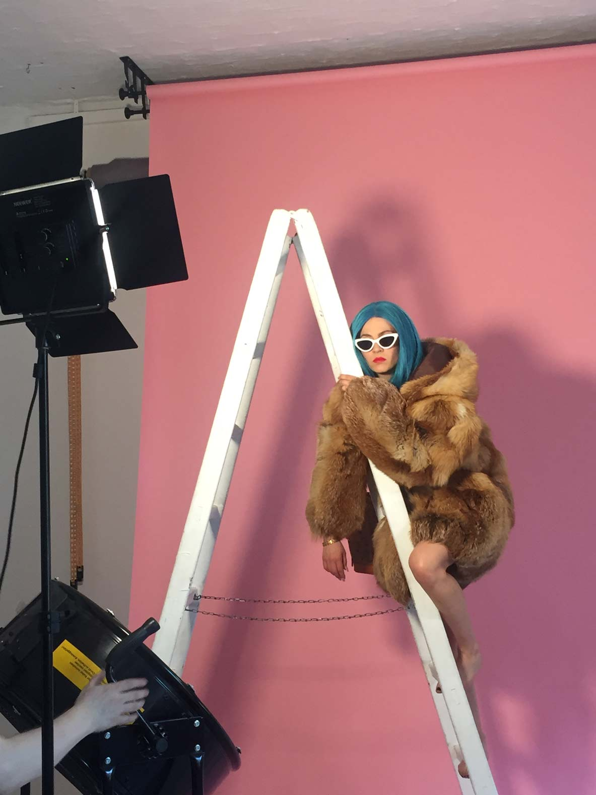 Maskenbildnerin Jasmin Arnold, makeupartist Berlin